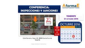Conferencia Tenerife AformaE