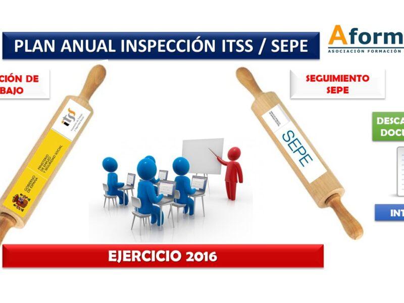 Plan anual ITSS-SEPE 2016