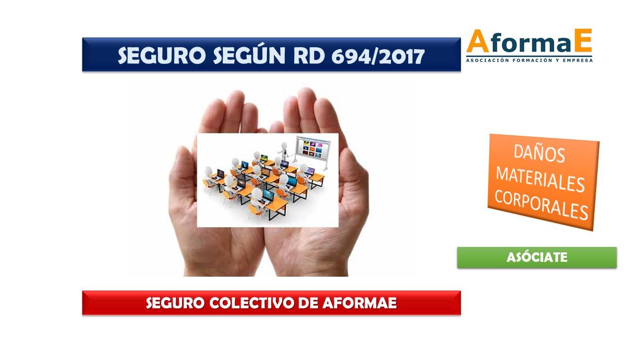 Seguro RD 694/2017